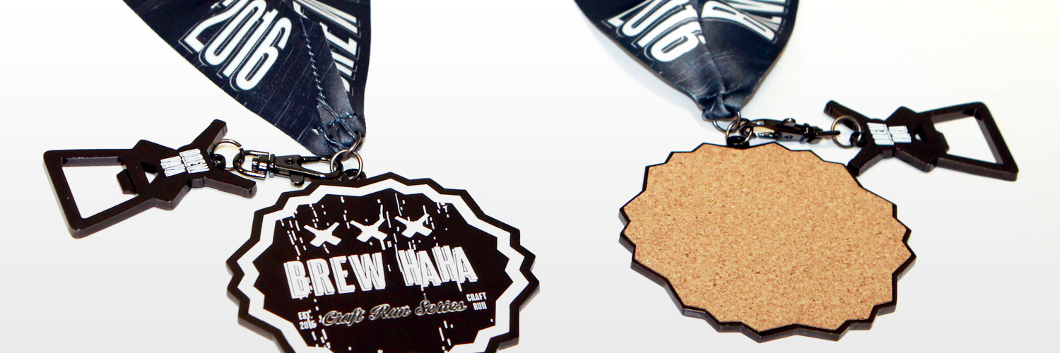 Coaster Race Medals